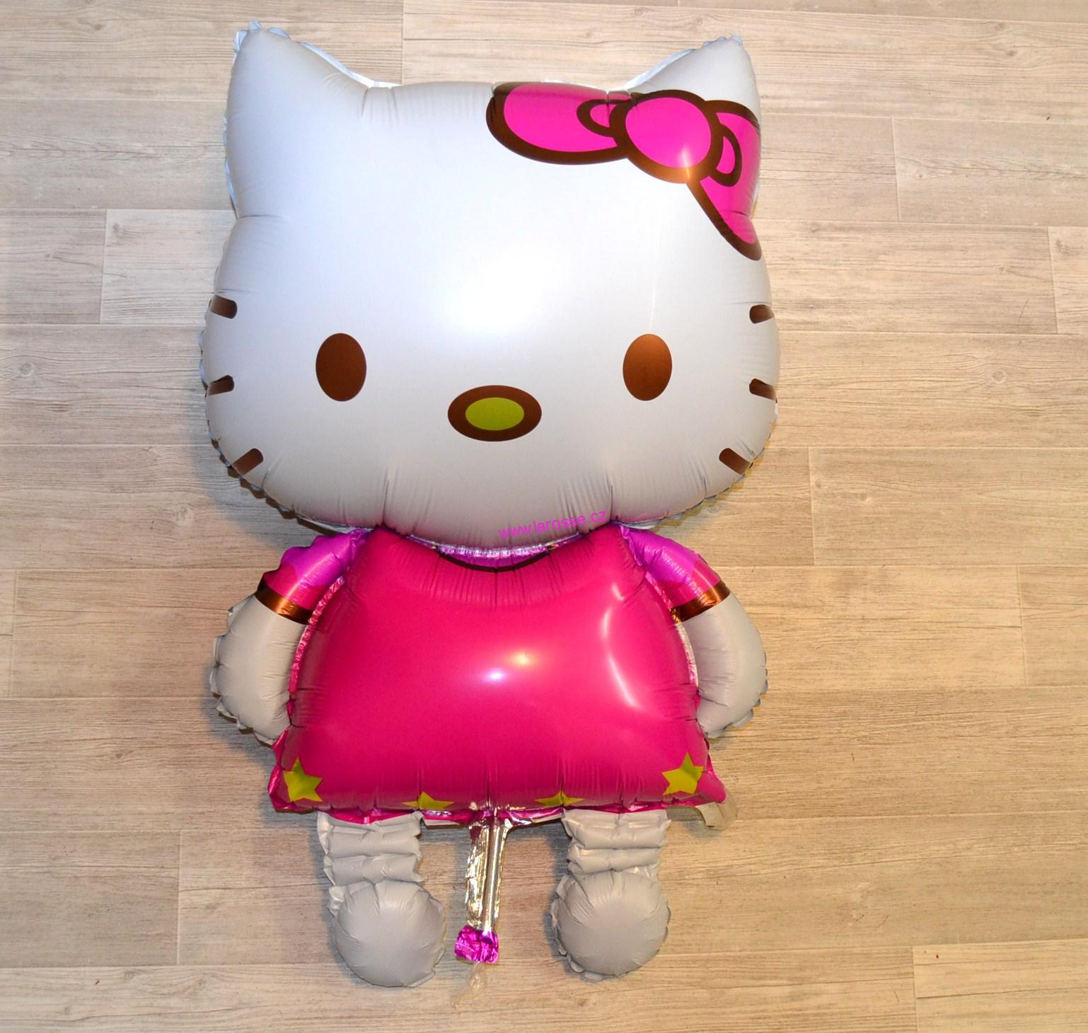 Balónek Hello Kitty 116 x 68 cm